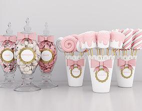 3D model Candy jars 2