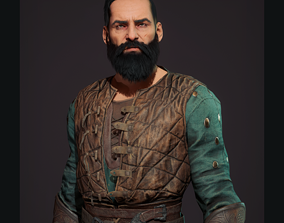 Viking Berserk 3D asset
