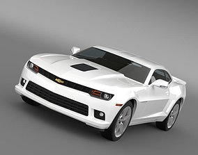 Chevrolet Camaro Coupe EU 2011 3D