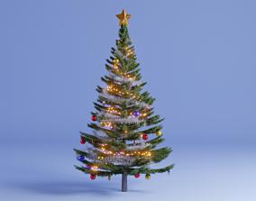 Christmas Tree nature 3D