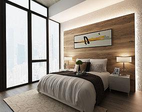 Bedroom mattress 3D