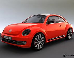 3D model Volkswagen Beetle 2012 golf