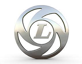 3D model auto ashok leyland logo