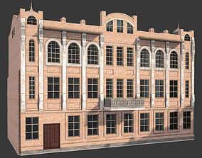 old historical building 3D