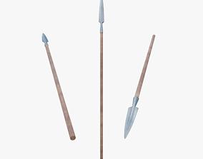 3D model Spear historical