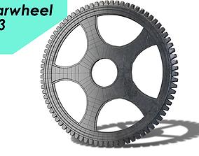 3D asset gearwheel0003