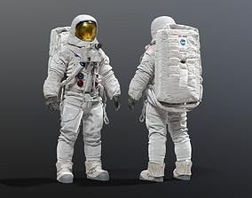 SPACESUIT NASA APOLLO 11 3D