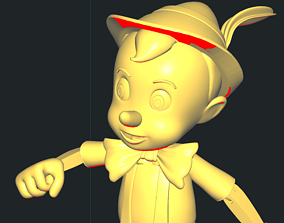 3D print model Pinocchio other