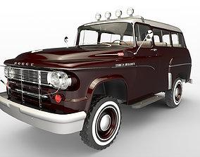 Dodge Town Wagon 4x4 3D model