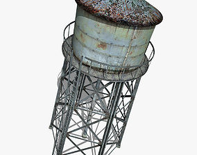 city Water Tower 3D