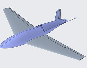 Unmanned Combat Aerial Vehicle- UCAV flying 3D