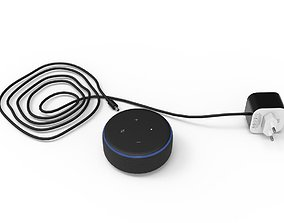 EchoDot PowerAdapter 3D model