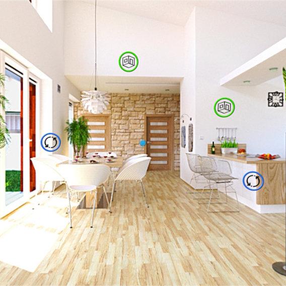 Interactive House (Blender + Unity)