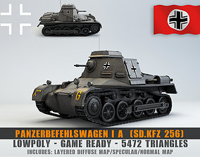 Low Poly SdKfz 265 Panzerbefehlswagen I A Late 3D model