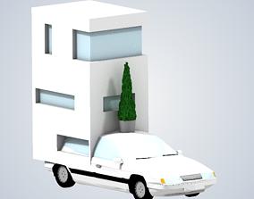 3D print model Jeremy Clarksons motor home Top Gear