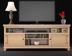 3D Pineland TV Stand