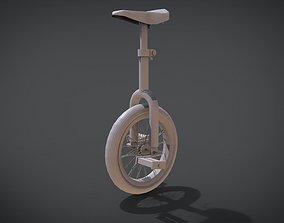 3D printable model One Wheel Bike