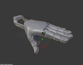 Prosthesis brush for 3D printing
