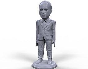 John McCain stylized high quality 3D printable miniature