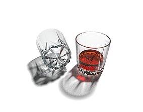 Glass of Whiskey 3D printable model