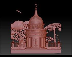 castle building 3D printable model