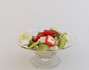 3D Fruit salad