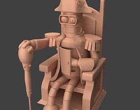 BENDER NAPOLEON 3D print model