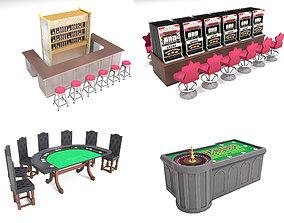 Casino equipment 3D model