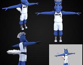 3D model NBA Dallas Mavericks Creatures Champ Mascot