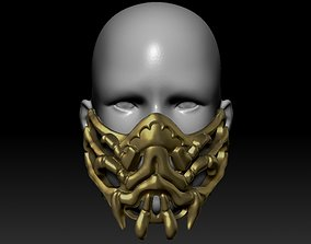 Quarantine Masl Scorpion Mask 3D print model