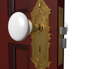 3D Door Knob Hardware 2