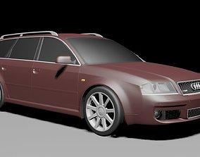 car Audi Rs6 c5 Avant 3d model