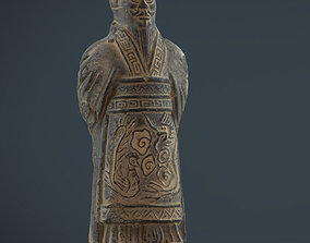 3D asset Terracota Soldier 2
