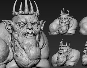 3D printable model Goblin King