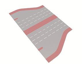 3D asset Freeway Exit