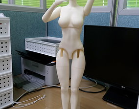 BJD girl -ball Jointed doll 3D print model game