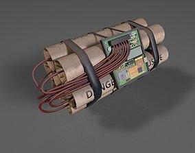 Remote Dynamite 3D model