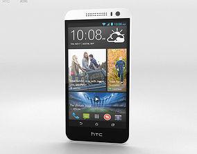 3D HTC Desire 616 White