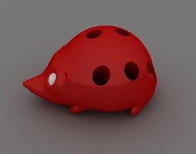 3D print model Hedgehog Pen Holder
