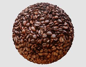 Coffee Beans PBR Texture 3D