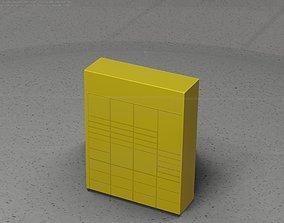 Packstation Object -9- Packstation Locker 3D model
