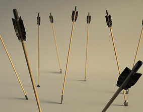 SPORT---ARCHERY---Arrow 3D asset