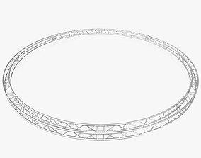 Circle Square Truss - Full diameter 800cm 3D