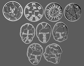 hobby-diy 3D Printer Supernatural Cookie Cutter Set