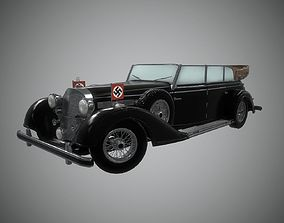 3D model Mercedes 770k Grosser Nazi Staff