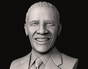 Barack Obama Bust 3D print model