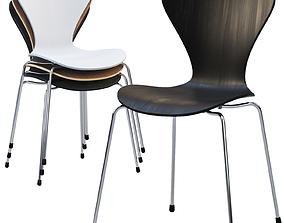 3D model Fritz Hansen Series 7 chair
