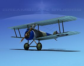 3D rigged Sopwith Camel historic