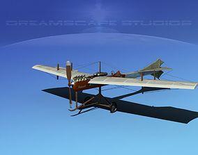 Antoinette Monoplane V01 3D