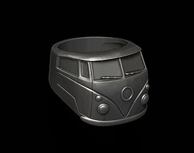 3D print model volkswagen car ring